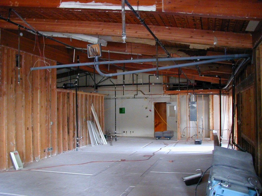 Tenant space before construction